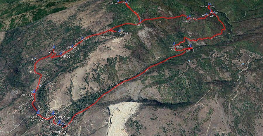 tours/map monastery hike
