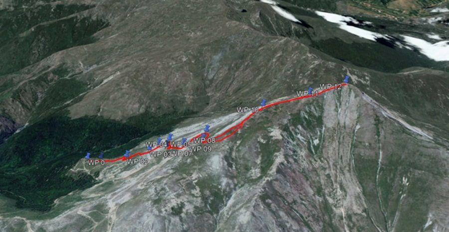 tours/map peak Ljuboten