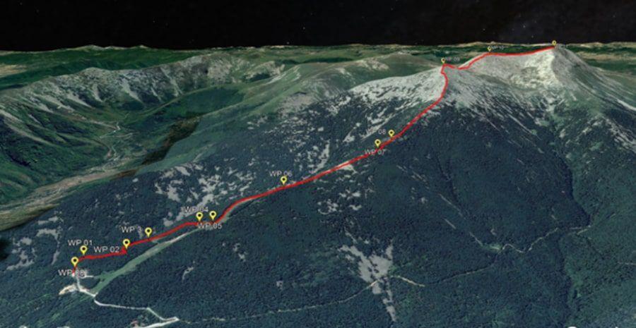tours/map peak Pelister