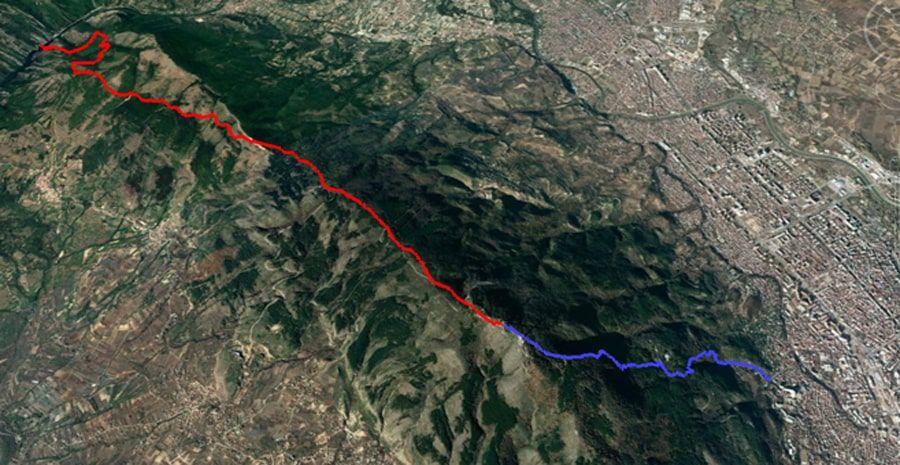 tours/map skopje millennium cross canyon matka
