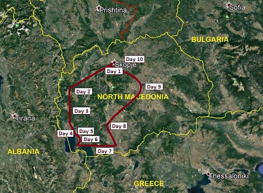 tours/map mountain biking adventure
