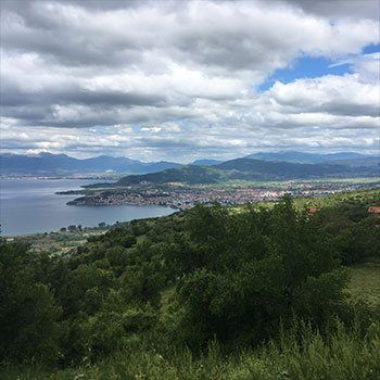 Prespa Lake to Ohrid Lake