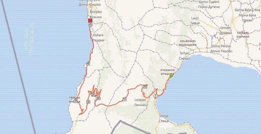 tours/oteshevo lagadin map
