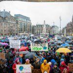 """40 ezer ember vonult fel az első amszterdami """"klímameneten"""""""