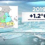 Mindenhol melegedést hozott 2019, egyedül Kanadában volt hűvösebb
