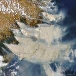 Új-Zéland gleccsereit is elszínezte az Ausztráliából érkező füst
