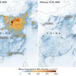 Kína szennyezettségi szintjének drámai csökkenése