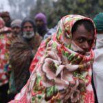 Delhiben rendkívüli hideg van