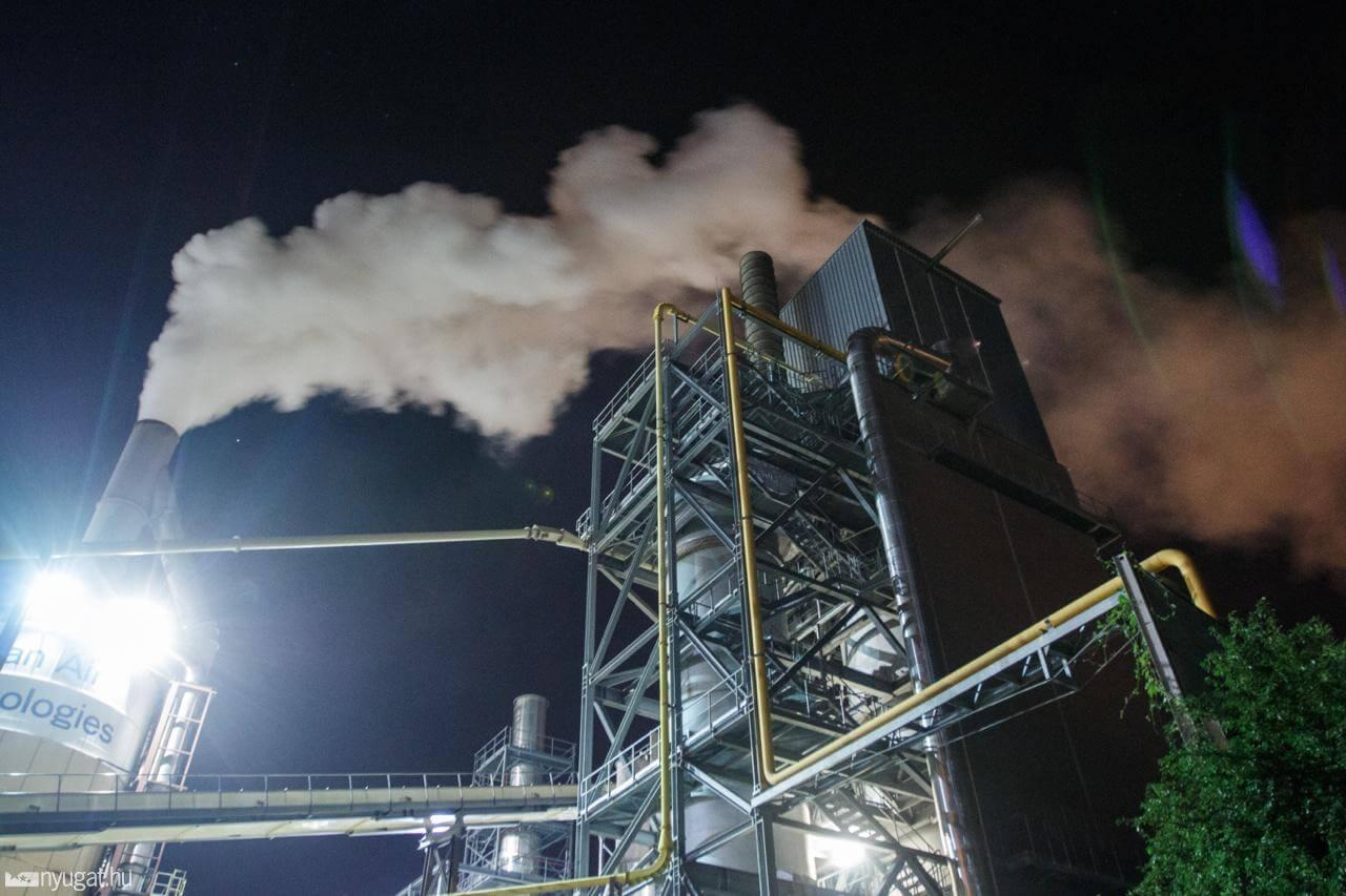 Működés közben - Gyilkos füst Szombathelyen! - ClimeNews