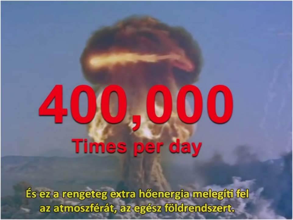 400 000 atomboba - A Trump körüli valóság - ClimeNews - Hírportál