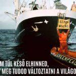 Negyvenöt éves a Greenpeace | ClimeNews - Hírportál