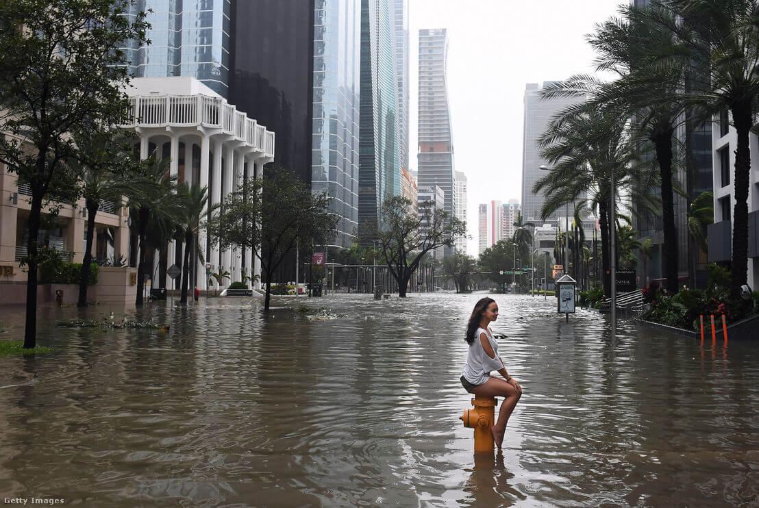Miami 2017. szeptember 11-én   Fotó: The Washington Post