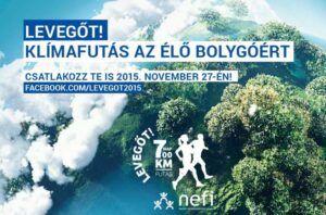 NEFI-LEVEGOT - 700 km-es klímafutás az élő bolygóért - ClimeNews