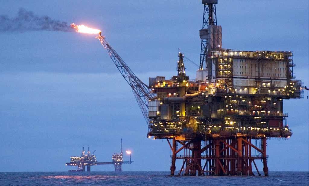 North Sea oil rig - Obama leállította a sarkvidéki tengeri olajkitermelést - ClimeNews