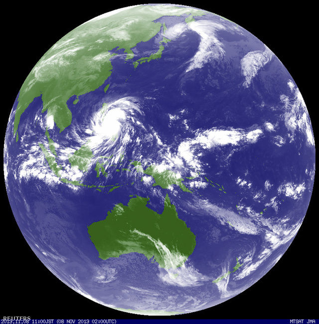 Reuters - Tajfun 2013 nov 08 - A vihar, ami durvább, mint Katrina és Sandy - ClimeNews