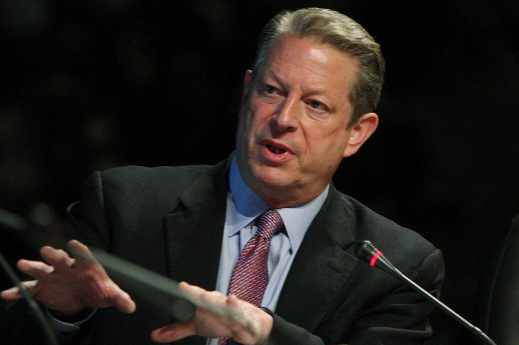 Al Gore - történelem | ClimeNews - Hírportál