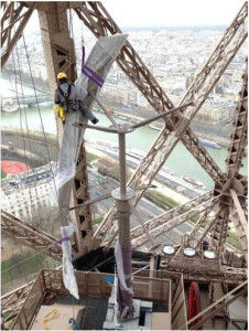 Ellátja magát árammal az Eiffel-torony | ClimeNews - Hírportál