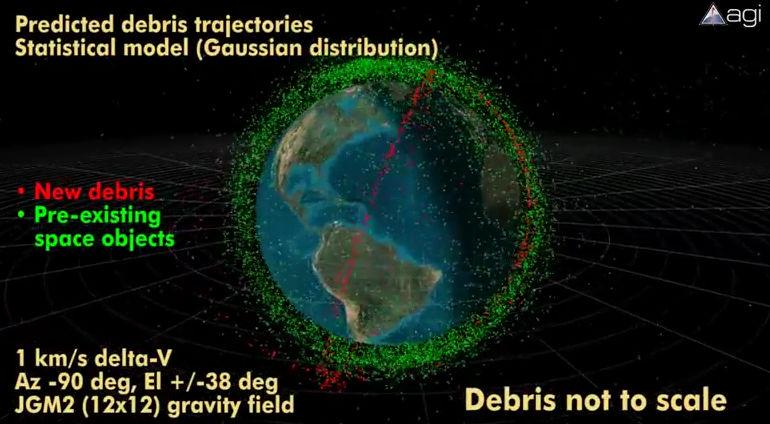 Már nem csak a Föld egy szeméttelep!