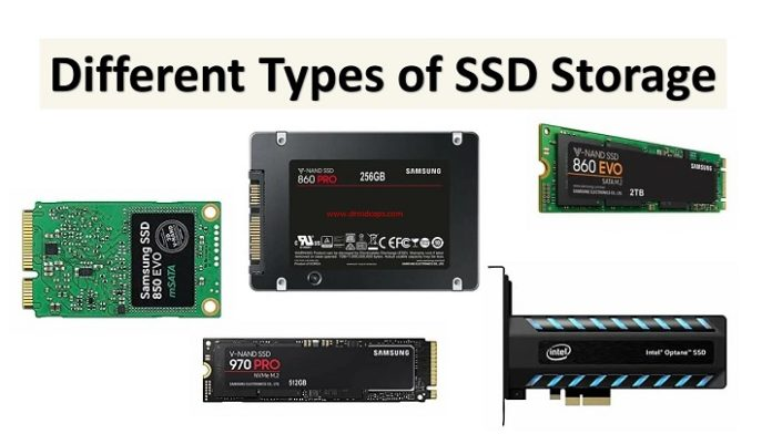 5 Different Types of SSD Storage you must know