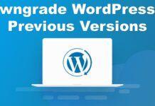 Downgrade-WordPress-to-Previous-Versions