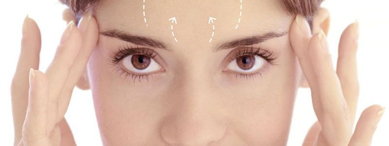 Brow lift surgery removes deep creases effectively