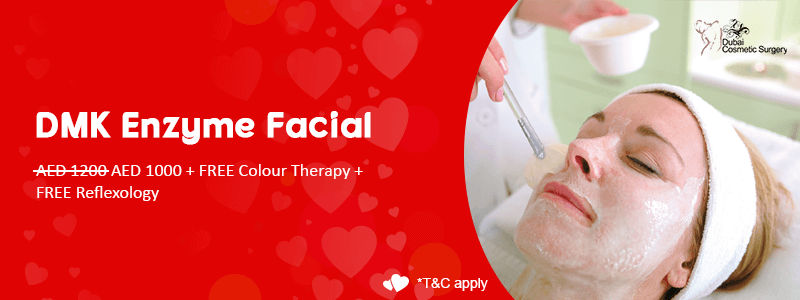 DMK Enzyme Facial AED 1200 AED 1000 + FREE Color Therapy + FREE Reflexology