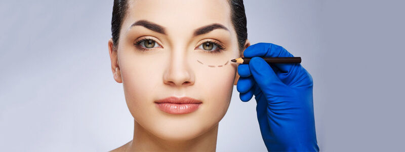 Droopy eyelid surgery in Dubai
