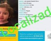 Localizan a Julia Villaseñor, menor desaparecida junto con su familia en Acatic