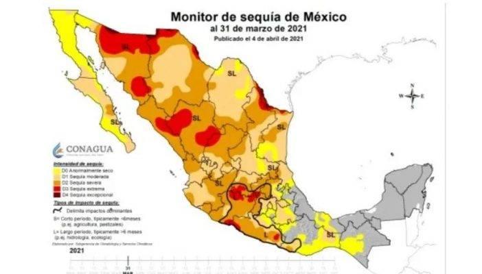"""La Conagua busca declarar """"sequía severa"""" en Jalisco"""