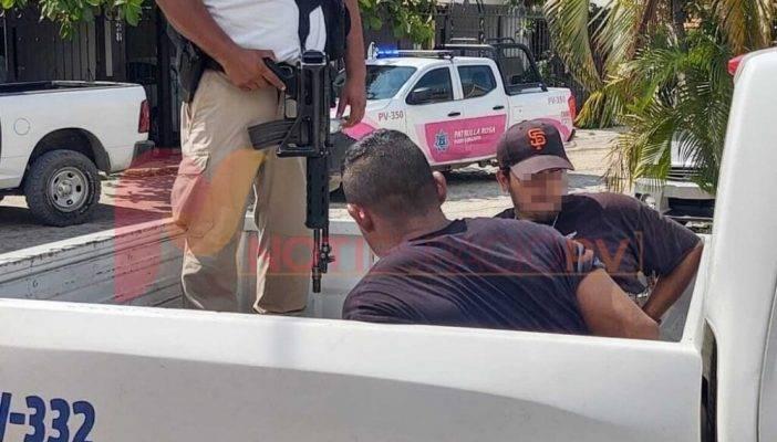 Un vehículo asegurado, un arma de fuego y dos sujetos detenidos tras operativo