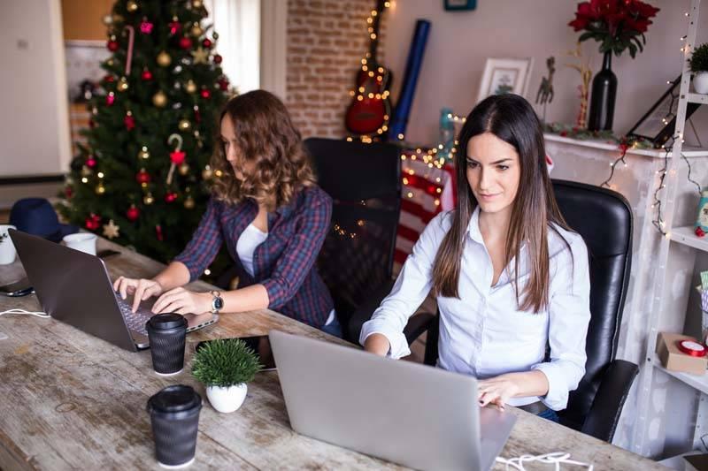social media associates at work