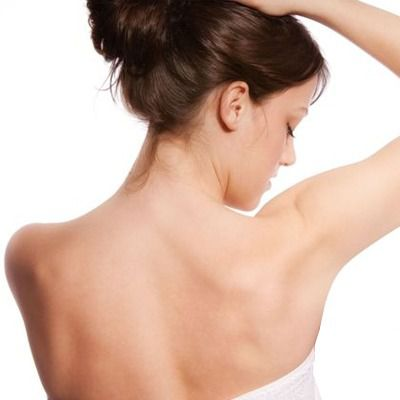 underarm hair removal and whitening