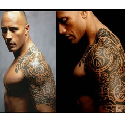 Story Behind Dwayne Johnson The Rock Tattoo Removal
