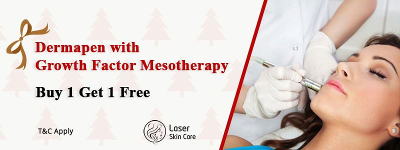 Dermapen with Growth Factor Mesotherapy Buy 1 Get 1 Free