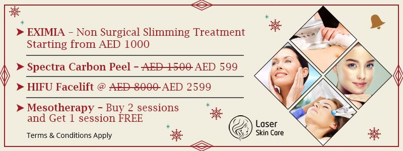 Eximia Non Surgical Slimming Treatment AED 1000