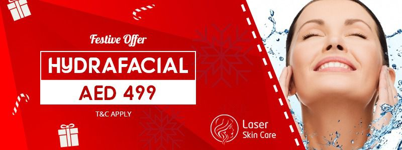 Festive Offer Hydrafacial AED 499 Only