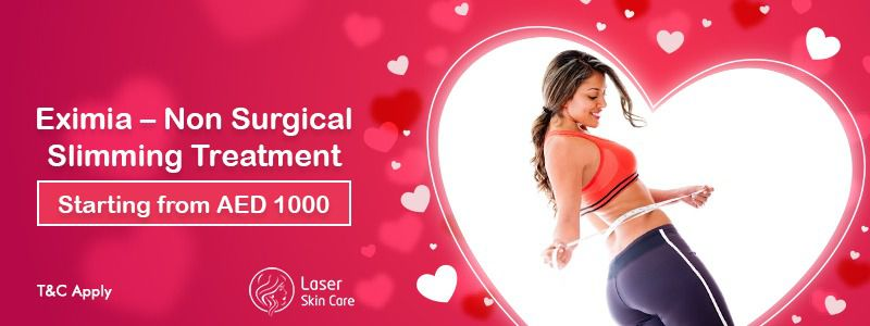 Eximia - Non Surgical Slimming Treatment AED 1000 Only