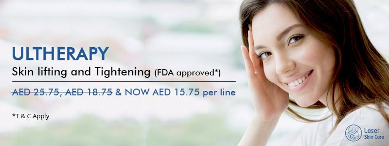 Ultherapy Skin Lifting and tightening AED 15.75 Per Line