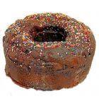 Chocolate Glazed Bunt Cake - Faux Fake Prop Food