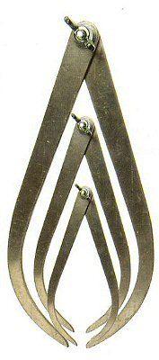 Sculptor's Aluminum Calipers