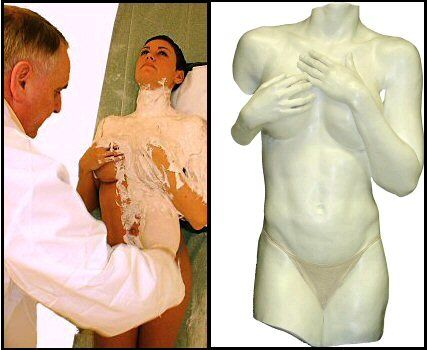 Life Casting Workshop - body casting