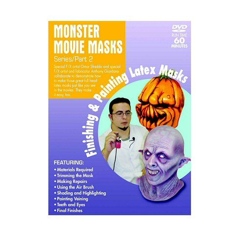 Monster Movie Masks Finishing-Painting Part 2 - DVD