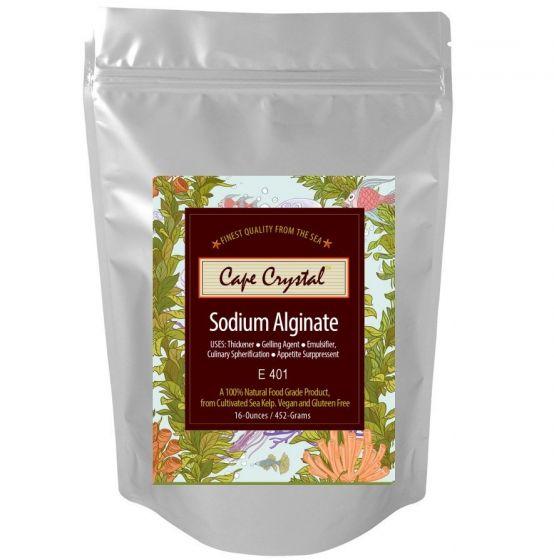 Sodium Alginate 16-oz Cape Crystal Brands