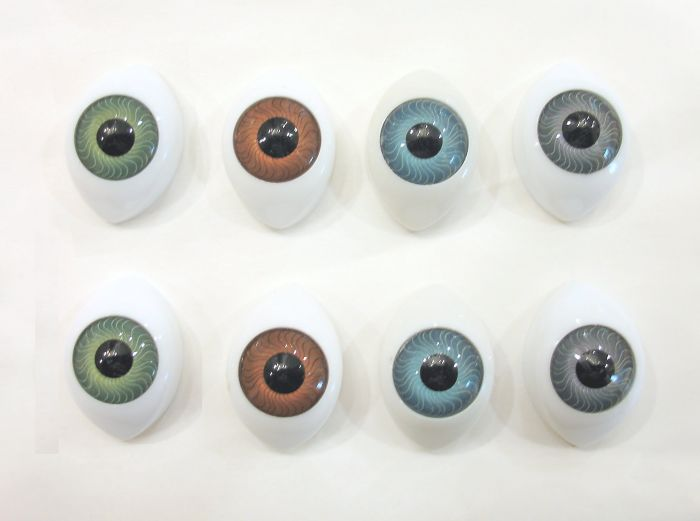 Flat Acrylic Eyes 26 mm