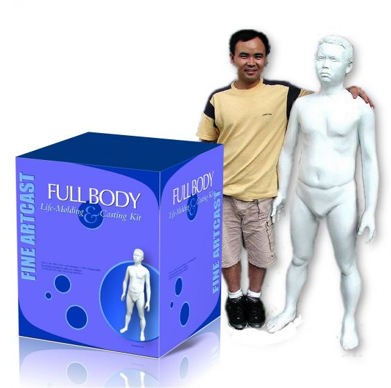 Full Body Casting Kit w Example