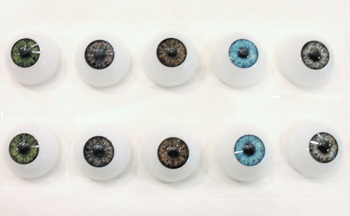Half Round Acrylic Eyes 26mm