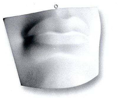 Lips | White Super-Fine Plaster