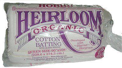 Cotton Batting with Scrim Binder