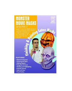 Monster Movie Masks Finishing-Painting Part 2