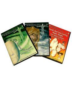 Lifecasting - Set of 3 DVDs